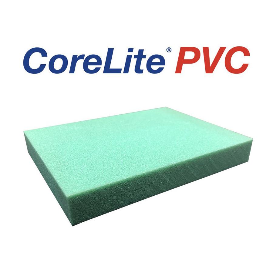 "CORELITE PVC 60 PLAIN PER 3/8"" 45.27X96.45 (33 SHT 1000.56SF"