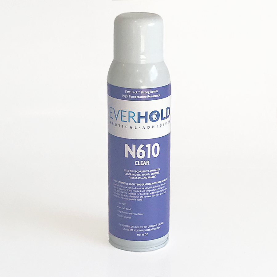 EVERHOLD N610 13OZ CONTACT ADHESIVE - CLEAR