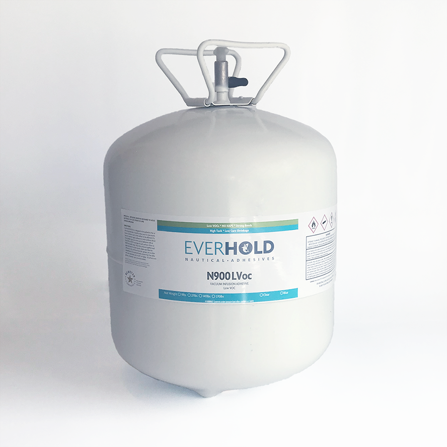 EVERHOLD N900 LOW VOC INFUSION ADHESIVE 27# CANISTER - BLUE