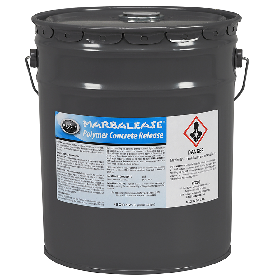 MARBALEASE POLYMER CONCRETE RELEASE (5G PAIL)