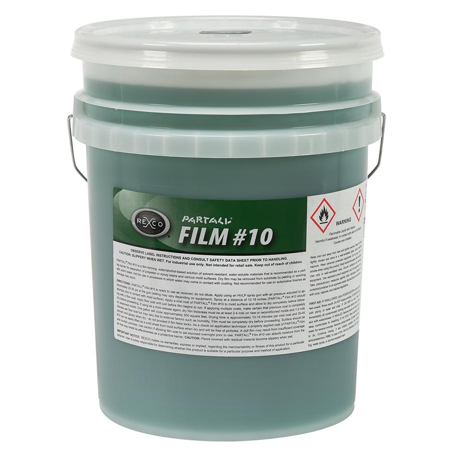 PARTALL FILM #10 GREEN (5 GA PAIL)
