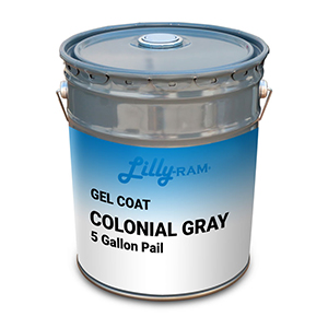 COLONIAL GRAY GELCOAT